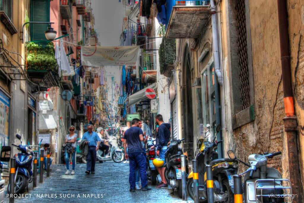 Neapol most racy city in Italy